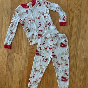 Pottery Barn Kids Christmas pajamas